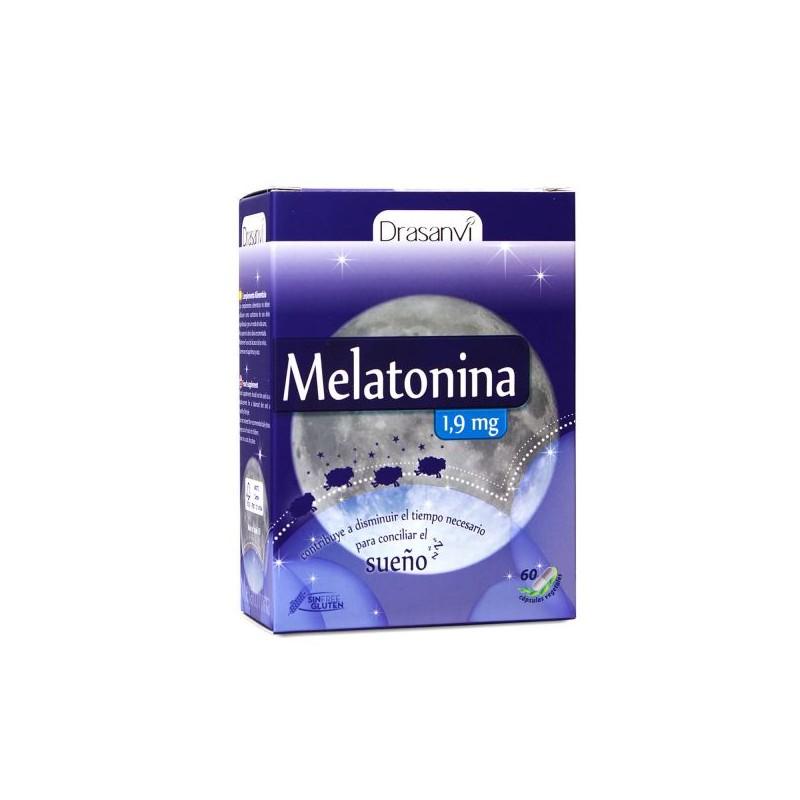 Melatonina 1.9 mg 60 Cápsulas