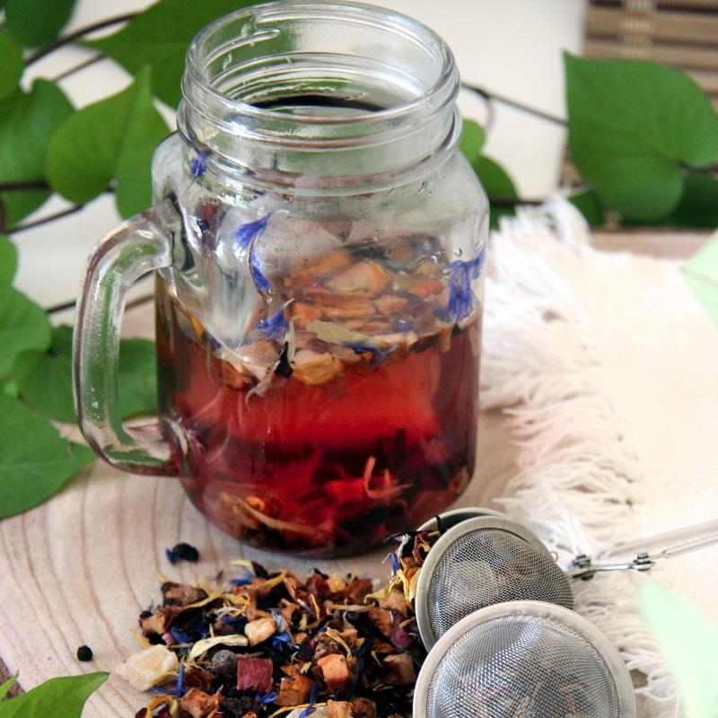 Chá de Frutas - Tesouro dos...