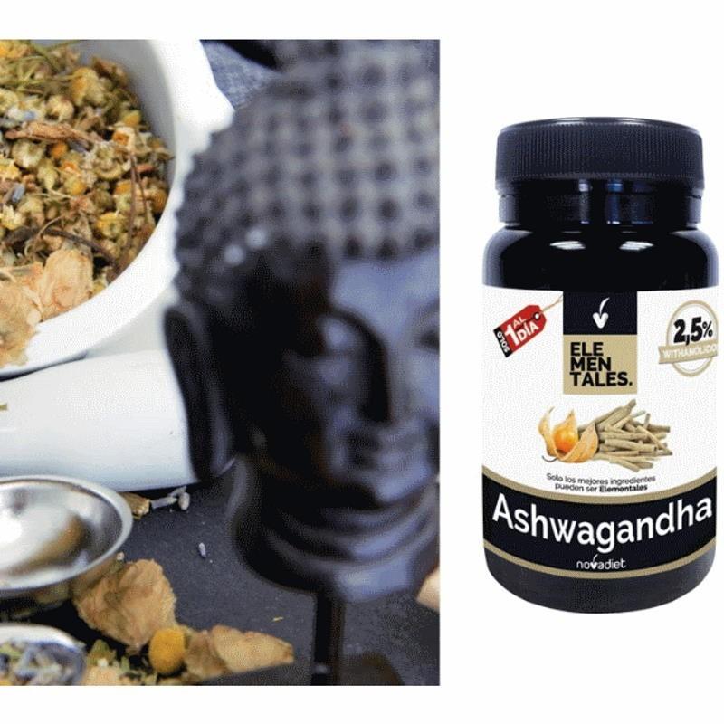 Chá calmante + Ashwagandha