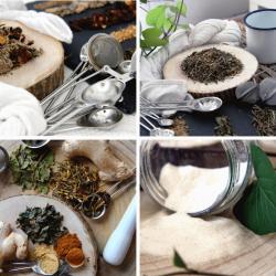 chá detox + adelgaçante + reforço + konjac